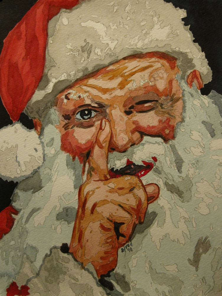 Santa_Claus_Watercolor